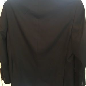 Perry Ellis black sport coat,double vents